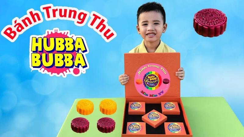 Minh Khoa Làm Bánh Trung Thu Hubba Bubba 100% ♥ Min Min T V ♥