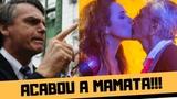 BOLSONARO X DANIELLA MERCURY E CAETANO VELOSO - LEI ROUANET E A MAMATA