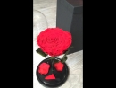 Роза в колбе диаметр бутона 14 см всегда в наличии доставка по всей России