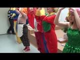 Весёлая детская песенка-игра Ёлочки-пенёчки на новогоднем утреннике - 2014