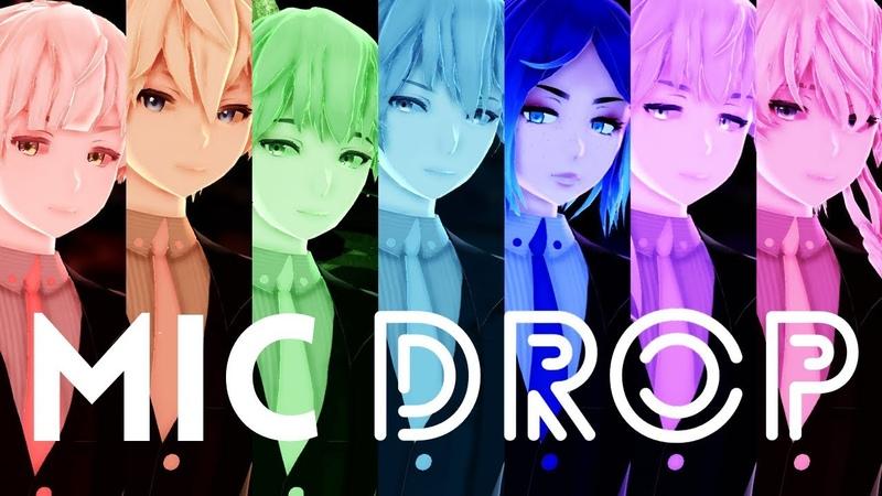 【MMD KPOP】MIC DROP【BTS (방탄소년단)】