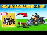 NEW QUADCRASHER CAR IS INSANE! - Fortnite Funny Fails and WTF Moments! #354