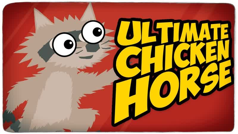 TheBrainDit СИЛЬНО ГОРИТ ОТ УРОВНЯ МАЙНКРАФТ У БРЕЙНА И ДАШИ ● Ultimate Chicken Horse
