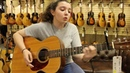 17 year old Connie Ryan playing a 1948 Martin 000 21 at Norman's Rare Guitars