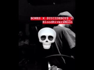 Bones x $uicideboy$ - BloodRiverMoon (snippet)
