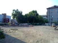 25 июля 2011 - Водонапорную башню на Жилина в Тольятти снесли