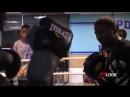 Тренировка с чемпионом мира в супертяжелом весе Деонтеем Уайлдером