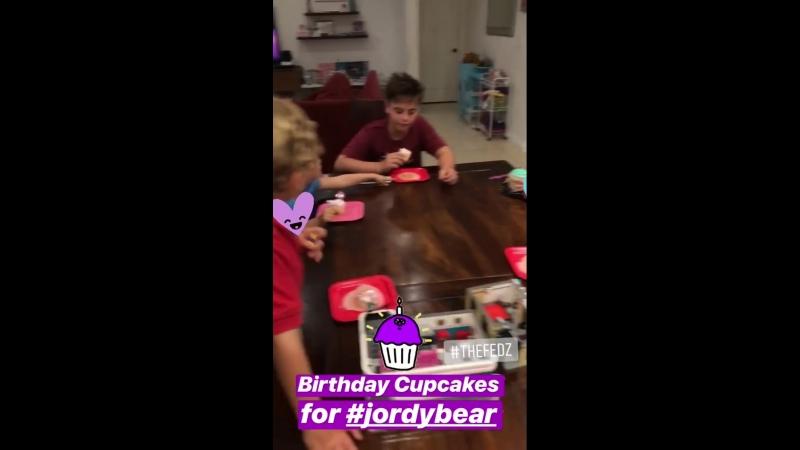 Sean Preston And Jayden James Celebrate Jordy's Birthday - August 16 2018