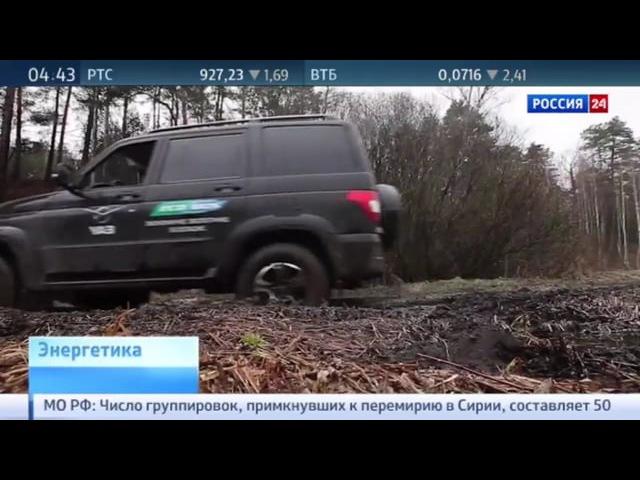 Кирилл Молодцов и Алексей Текслер проводят тест-драйв УАЗ Патриот на