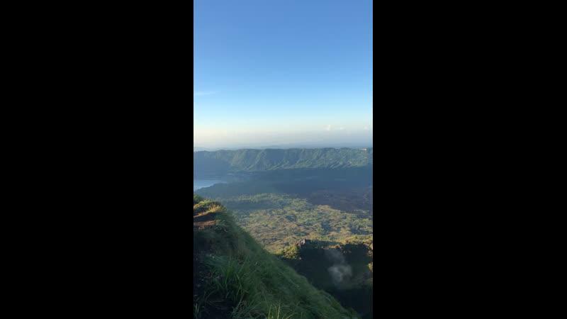 Вулкан Батур Бали Индонезия 🇮🇩