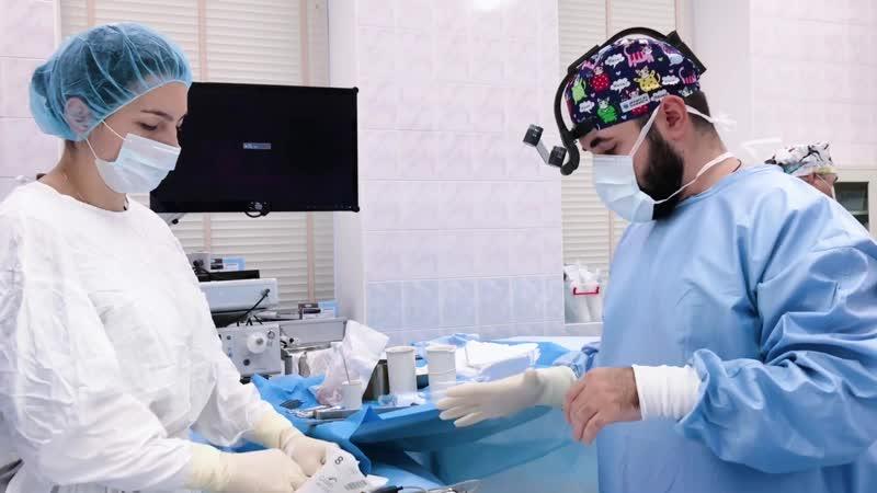 Пластический хирург Барсегян О.М. Эндопротезирование груди с периареолярной подтяжкой