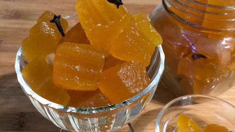 Новогоднее меню: Варенье из тыквы | Դդմի մուրաբա | Pumpkin Preserves