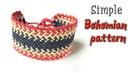 Very simple Boho style Macrame bracelet tutorial for men Hướng dẫn làm vòng tay Boho nam đơn giản