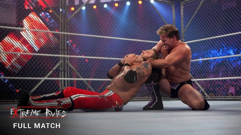(WWE Mania) Extreme Rules 2010 Edge vs Chris Jericho (Steel Cage Match)