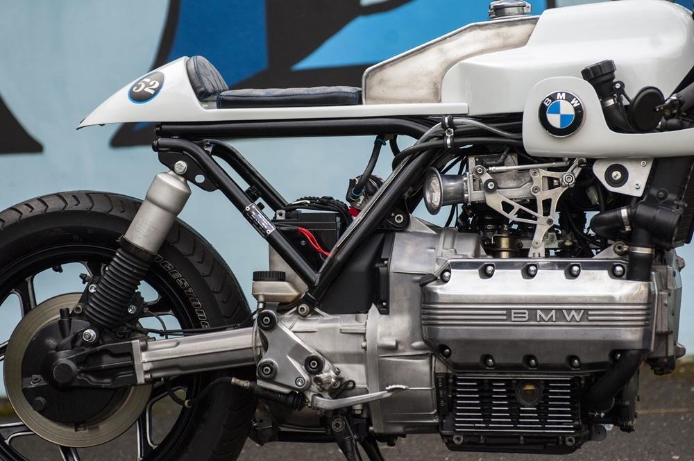 Les Ateliers Du Dr Joe: кафе рейсер BMW K100