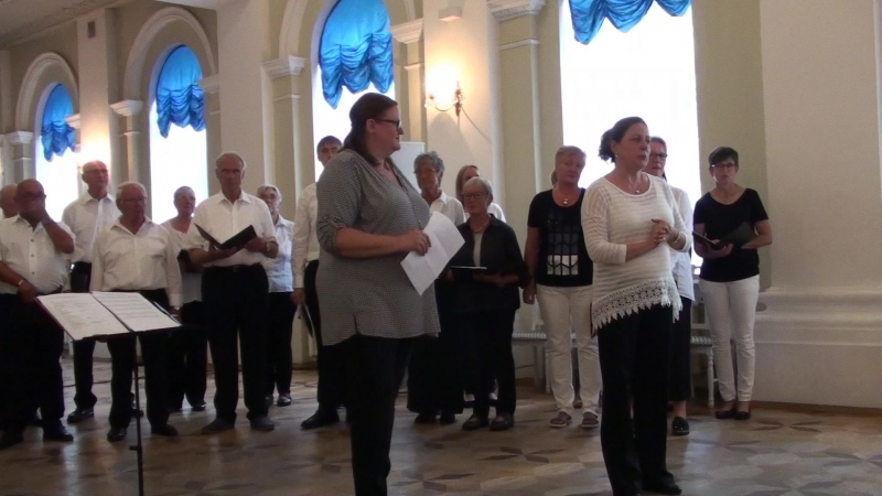 2_Немецкий хор Westfalenchor (дирижёр Татьяна Хундт)