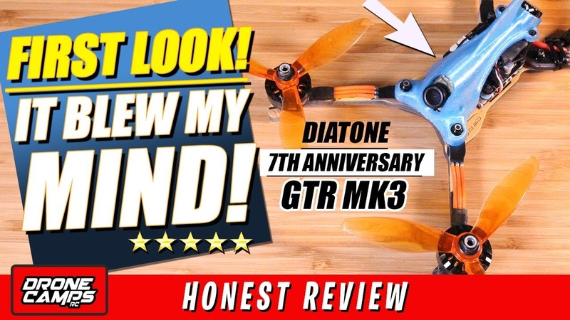 FIRST LOOK! - IT BLEW MY MIND! - Diatone 7th Anniversary GTR MK3 Review, Flights, Setup Video