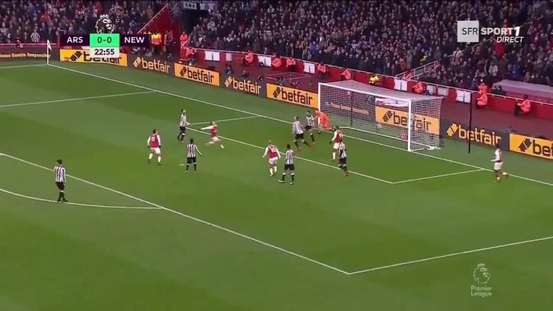 Арсенал - Ньюкастл 1:0 (Озил)