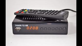 Порвал всех! Революционный Т2 Тюнер Tiger T2 IPTV PLUS (обзор и настройка