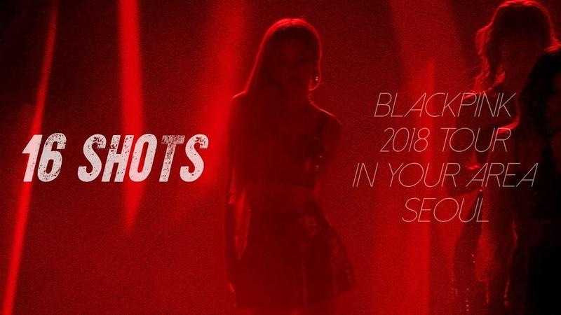 181110 11 블랙핑크 로제 BLACKPINK ROSÉ IN YOUR AREA 콘서트 직캠 16 Shots