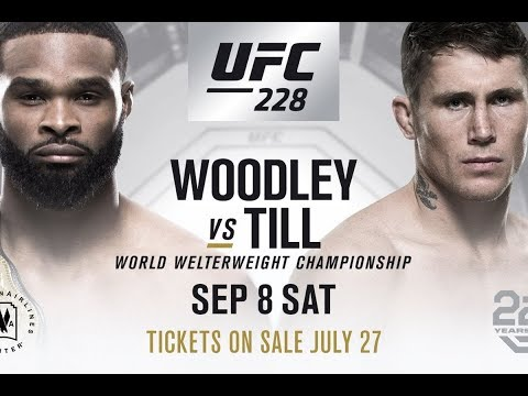 UFC 228: Tyron Woodley vs Darren Till PROMO Battle for the title of Champion HD