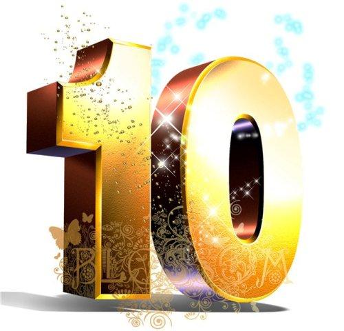 Поздравление с днем рождения подругу 10 лет