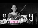 Hey Ma Pitbull J Balvin ft Camila Cabello Electric Violin Studio Cover Caitlin De Ville