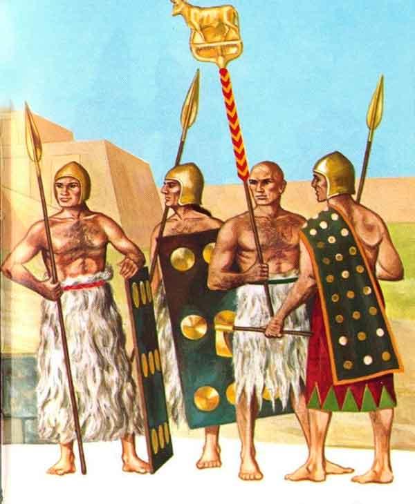 Воины шумеров