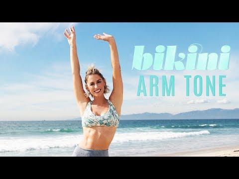 Best New Upper Body Workout ~ Bikini Arm Tone With Karena!