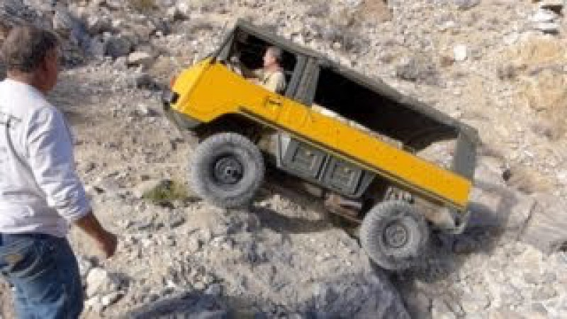 Defense Mine / Cummings Cutoff in a Pinzgauer 710M