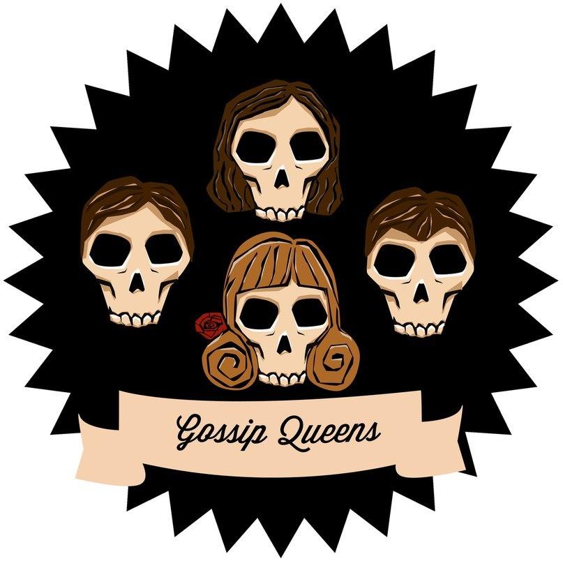 Gossip Queens - Gossip Queens/First Shit Demo (2012)