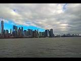 New-York, Manhattan - view from the ocean
