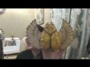 Скарабей. текстильная грунтованная игрушка и презентация сеньора Помидора