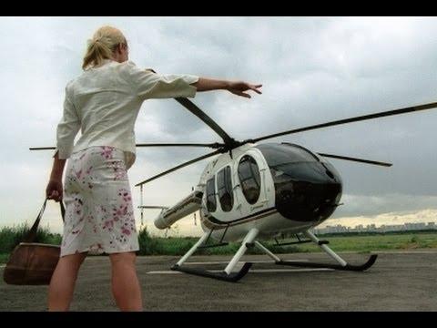 Москвичи пересаживаются на вертолетное такси