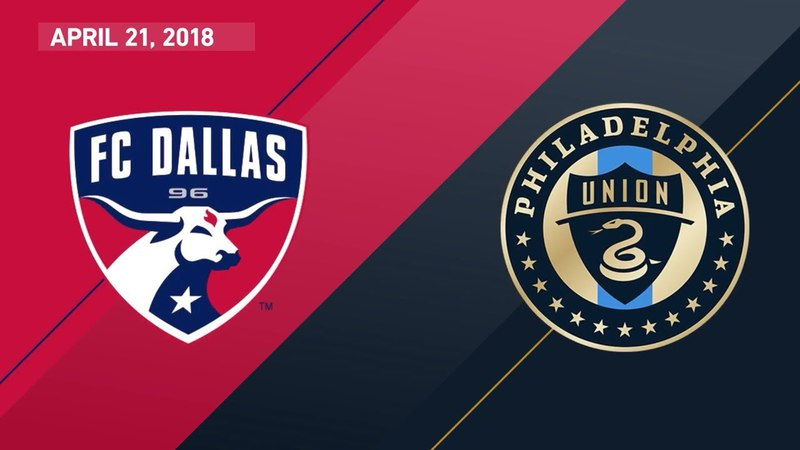 HIGHLIGHTS: FC Dallas vs. Philadelphia Union | April 21, 2018