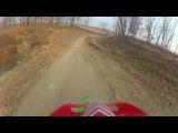 Последняя тренировка по мотокроссу в сезоне 2013 (Падение)/ Last MX training in season 2013 (Crash)