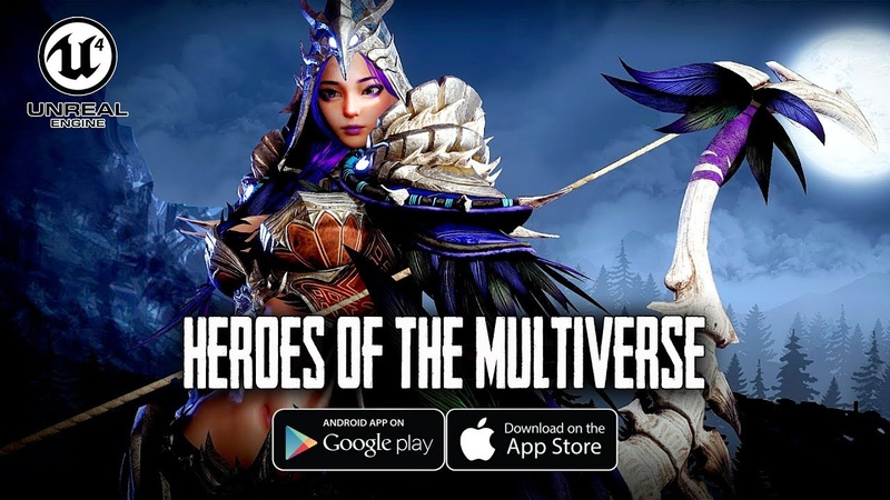 [Android/IOS] Heroes of The Multiverse - Moba Battle Royale CBT 2nd Gameplay