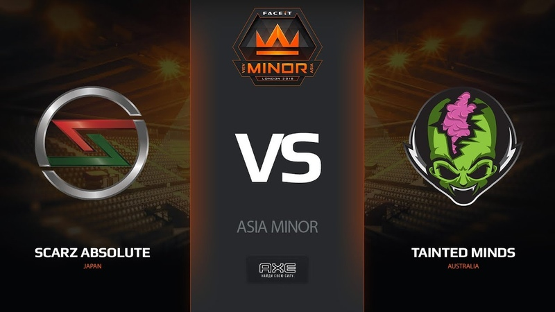 SCARZ Absolute vs Tainted Minds, map 2 cache, Asia Minor – FACEIT Major 2018