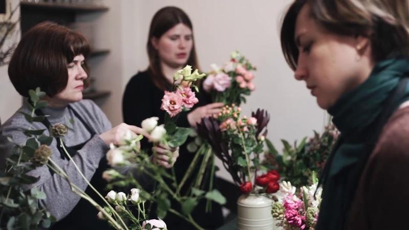 Школа флористики Зеленая мама, Томск (с музыкой)