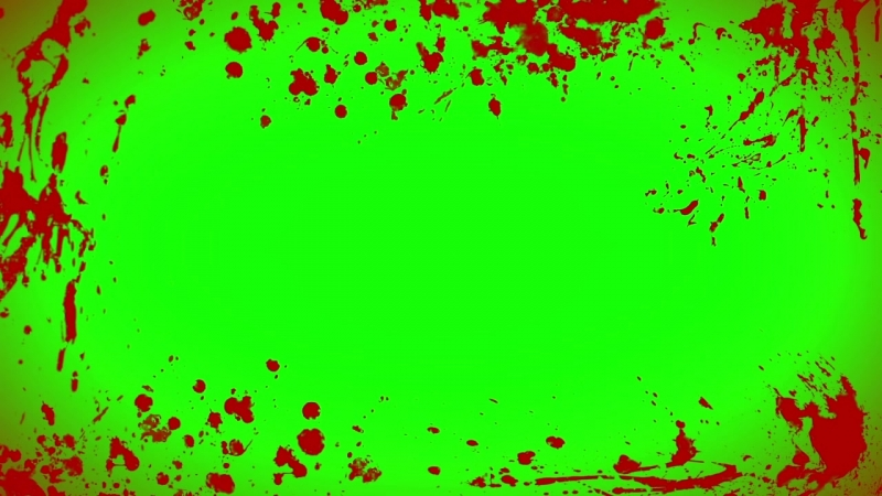 First Person Blood (Improved) - Free Green Screen Footage.mp4