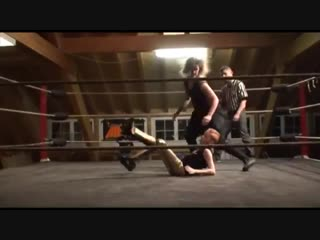 Swiss Pro Wrestling Layla Rose vs Blake Woman vs Boy Match