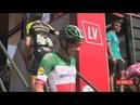 La Vuelta Etapa 8 Control de firmas salida Linares