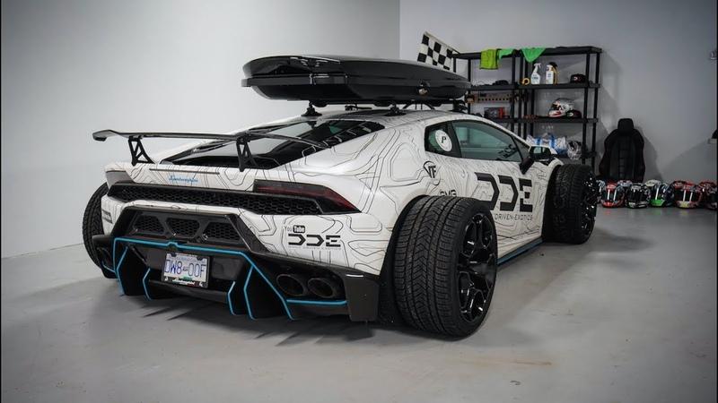 F1 Style Supercharged Lamborghini Huracan w/ VF Exhaust