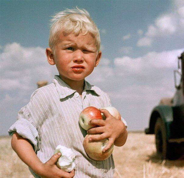 В СССР было другое детство.