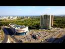 Аэрообзор Ульяновска в 4К: Пушкарёвское кольцо, автовокзал, Волга-Спорт-Арена и ТК Звезда