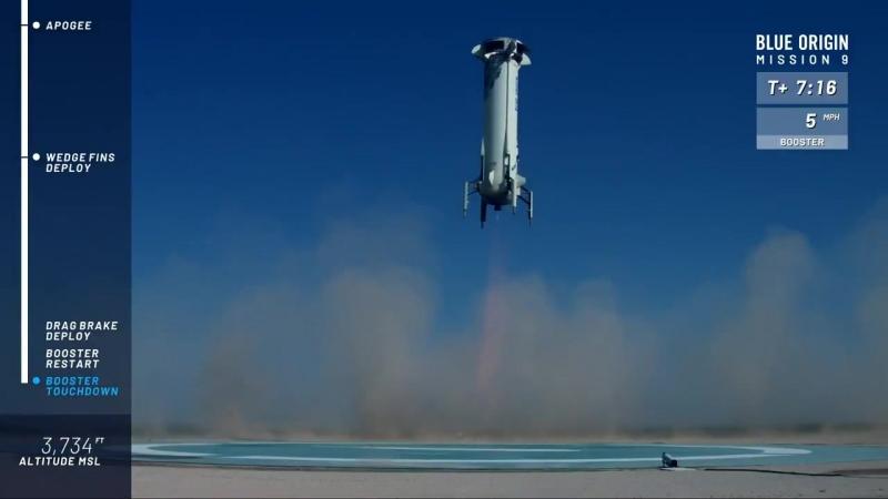 Вот и Blue Origin научился сажать свои ракеты.