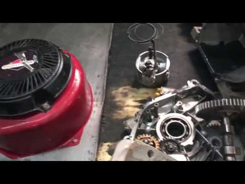 Ремонт двигателя Briggs Stratton, замена колец