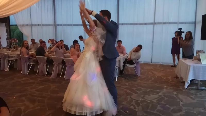 Свадебный танец Анастасии и Андрея