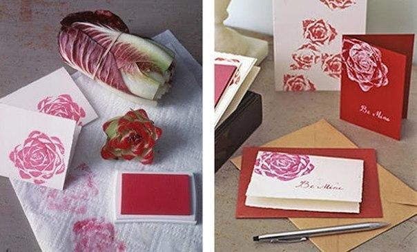 Оригинальная идея рисования роз (1 фото) - картинка