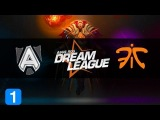 Fnatic vs Alliance Highlights DreamLeague - season 1